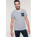 Tee-Shirt Oceanperf Homme marinière